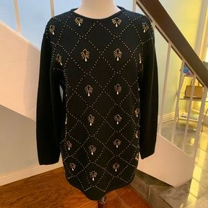 Liz Claiborne Bejeweled Sweater